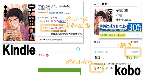 Kindleストアの追撃セール